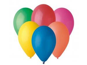 """Balónek 26cm/10""""  #080 barevný mix"""