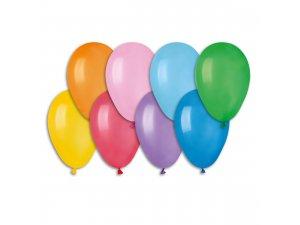 """Balónek pastel 19cm/7"""" party mix (100ks/bal)"""