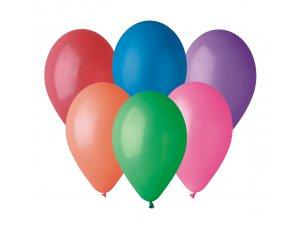 """Balónek 30cm/12""""  #080 barevný mix"""