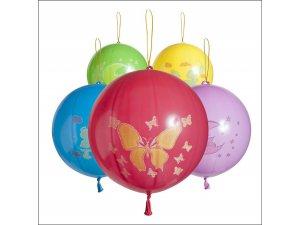 Balónek tvar punch ball potisk (50ks/bal)