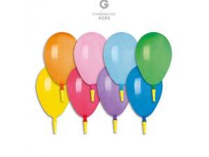 Balónek s píšťalkou (100ks/bal)