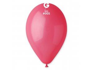 """Balónek 26cm/10"""" #005 červený"""