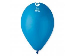 """Balónek 26cm/10"""" #010 modrý"""