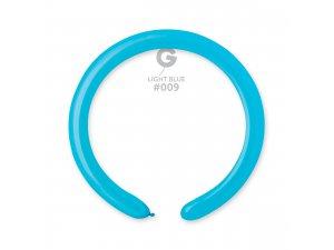 Balónek modelovací #009 světle modrý (100ks/bal)