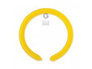Balónek modelovací #002 žlutý (100ks/bal)