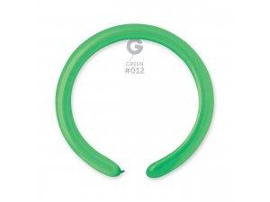 Balónek modelovací #012 zelený (100ks/bal)
