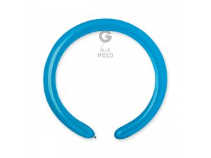 Balónek modelovací #010 modrý (100ks/bal)