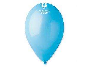 """Balónek 26cm/10"""" #009 světle modrý"""