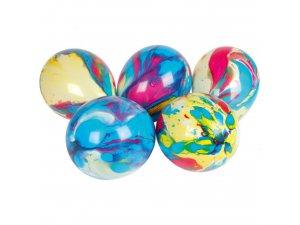 """OB balónky luxusní mramorové (12""""/30cm) 6 ks"""
