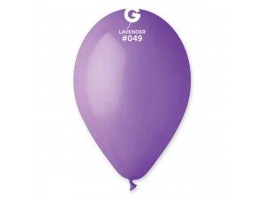 """Balónek 26cm/10"""" #049 fialový"""