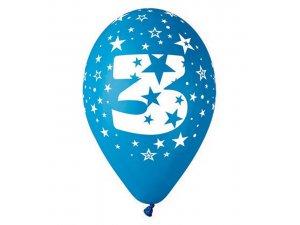 """OB balónky GS110 """"3"""" (6ks)"""