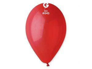 """Balónek 26cm/10"""" #045 červený"""