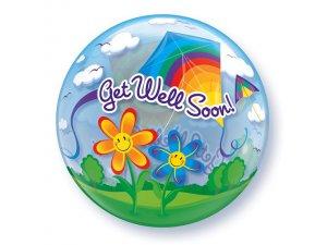 "22"" bublina - DRACI - UZDRAV SE! GET WELL! - Uzdrav se brzy! 22 QUALATEX2_68654.jpg"