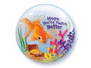 "22"" bublina - RYBKA - HOPE YOU´RE FEELING BETTER"