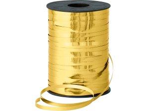 Stuha metalická 5mm x 250m  zlatá