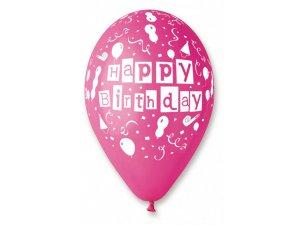 Balónek pastel 30 cm HB potisk (100ks/bal)