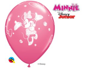 "Balónek Qualatex 12"" potisk MINNIE (6 ks/bal)"