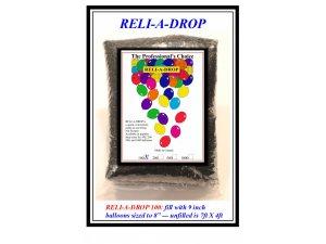Síť QUALATEX na vypouštění balónků (kapacita 100 balónků)