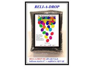 Síť QUALATEX na vypouštění balónků (kapacita 500 balónků)