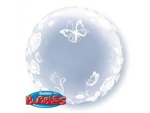 """24"""" DECO bublina - MOTÝLCI"""