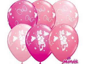 "Balónek Qualatex 11"" potisk MINNIE MOUSE (25ks v balení)"