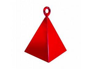 Závaží na balónky pyramida červená