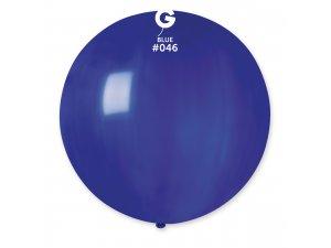 """Balónek 80cm/31"""" #046 modrý"""