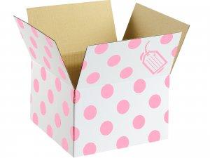 Krabice růžová