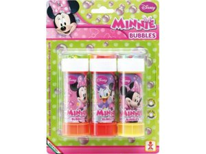 Bublifuk blister 3 ks Minnie