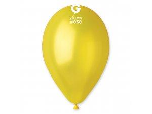 """Balónek 28cm/11"""" #030 žlutý"""