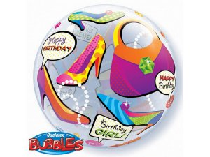 "22"" bublina - Happy Birthday II"