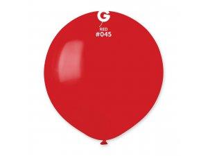 """Balónek 48cm/19"""" #045 červený"""