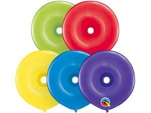 "16"" Balónek Qualatex DONUT (50 KS)"