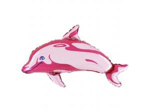"""MINI 14"""" Delfín růžový"""