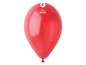 """Balónek 26cm/10"""" #042 červený"""