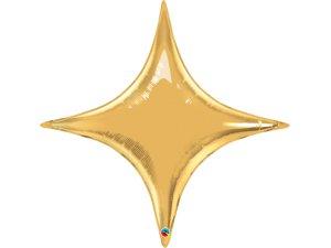 """20"""" fóliový balónek - Starpoint zlatá"""