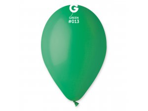 """Balónek 30cm/12"""" #013 tmavě zelený"""