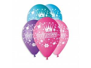 OB balónky GS110 princezny 6 ks