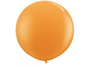 3'  Balón Qualatex oranžový
