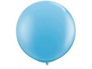 3'  Balón Qualatex světle modrý