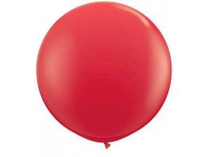 3'  Balón Qualatex červený