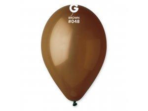 """Balónek 30cm/12"""" #048 hnědý"""
