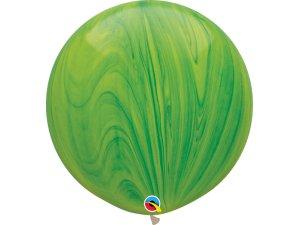 """30""""  Balónek - Zelený achát"""