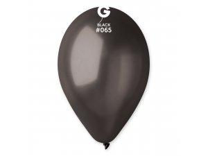 """Balónek 26cm/10"""" #065 černý"""