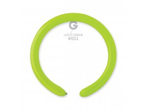 Balónek modelovací #011 světle zelený (100ks/bal)