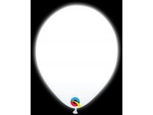 """11"""" Q-lite balónky WHITE LED 5ks"""