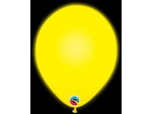 """11"""" Q-lite balónky YELLOW LED 5ks"""