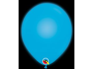 "11"" Q-lite balónky BLUE LED 5ks"