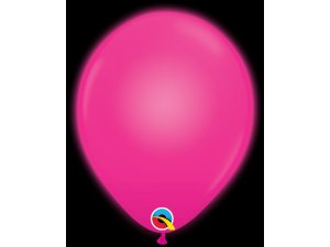 "11"" Q-lite balónky MAGENTA LED 5ks"