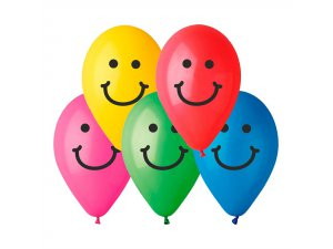 OB balónky GS90 smile 10 ks